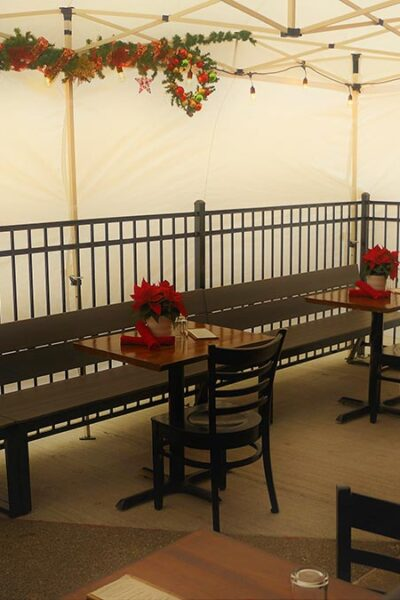 Outdoor Dining at the Red Cork Bistro